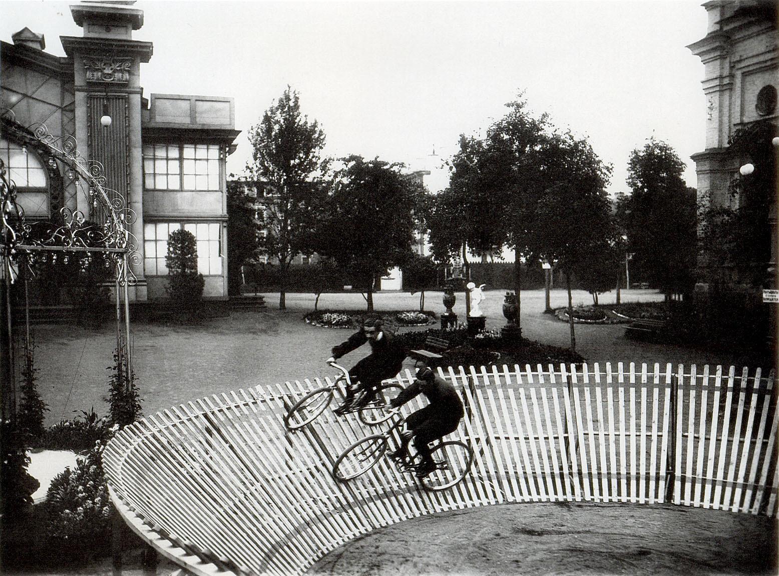 1904. Велотрек в саду Буфф