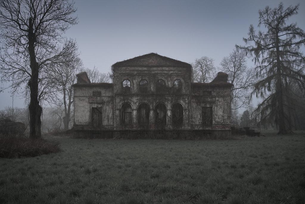 creepy palace