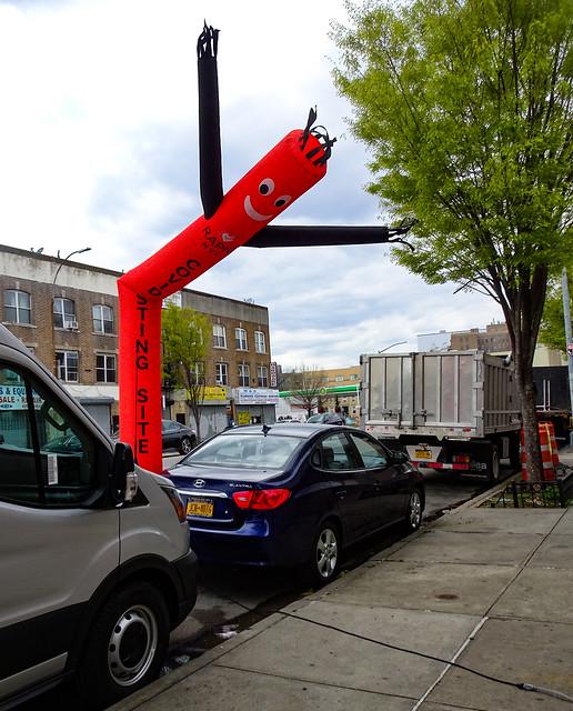 COVID testing on Coney Island Avenue, Brooklyn.