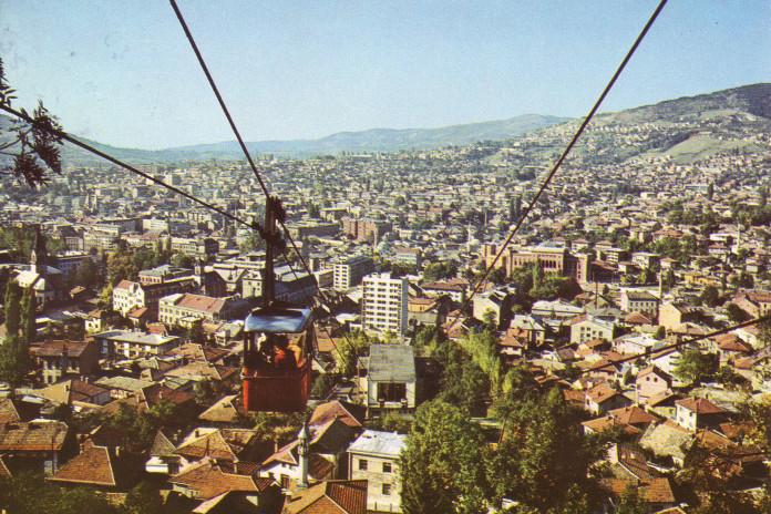 Československá lanovka v Sarajevu