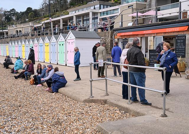 Coffee stop Lyme Regis