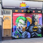 New comic boom artwork on Friargate, Preston