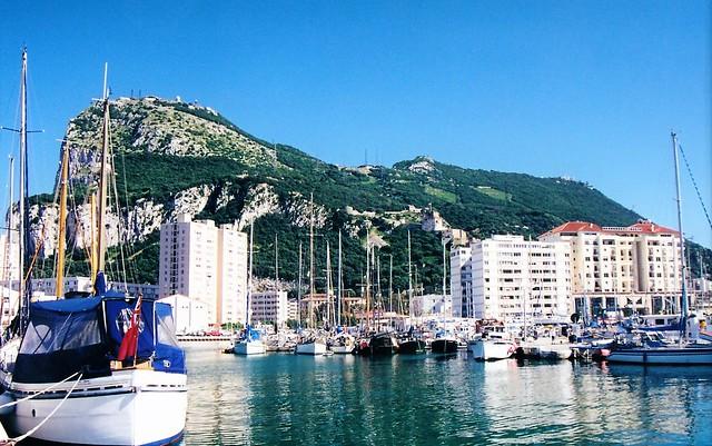 Gibraltar...from the marina