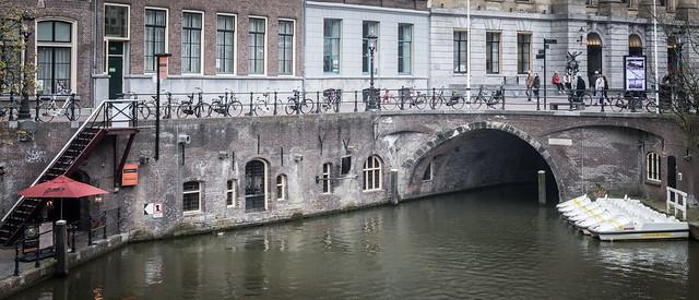 Stadhuisbrug (Town Hall Bridge), Utrecht