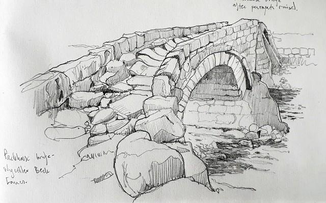 Pack horse bridge, Wycoller, Lancashire