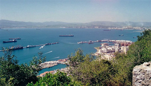 The city and commercial port - Gibraltar