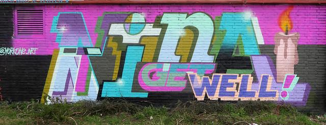 Graffiti in Amsterdam