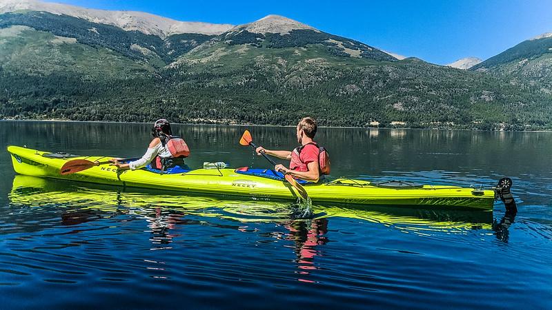 Tandem Kayaking