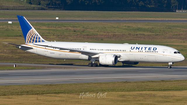 United Airlines - N36962 - Boeing 787-9 Dreamliner