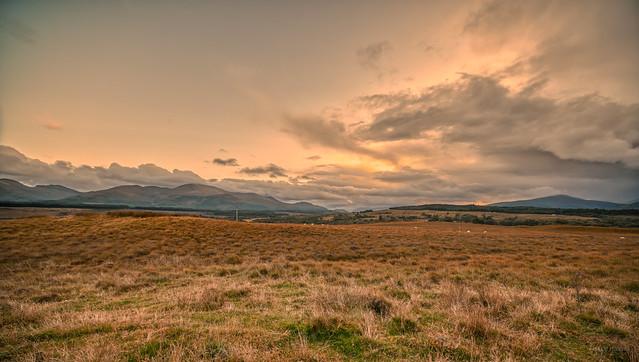 Landscape near Spean Bridge, Scotland.
