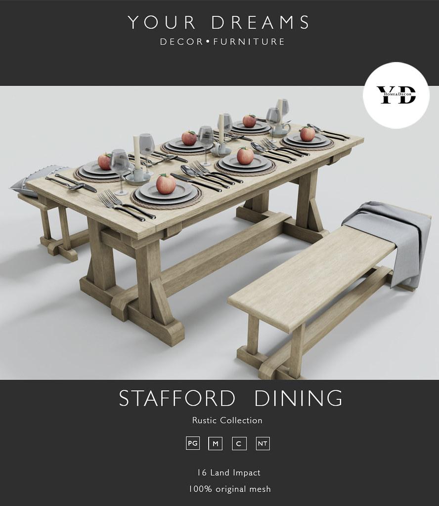 {YD}Stafford Dining