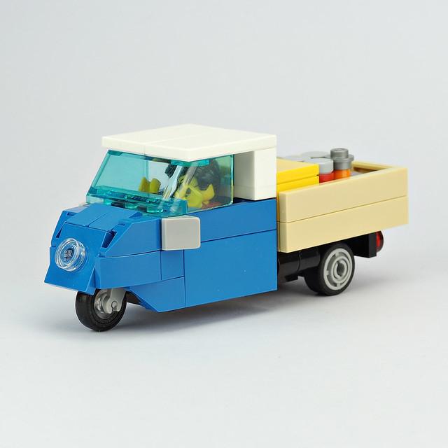Vintage 3 Wheels Truck