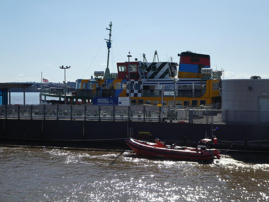 Mersey Ferry, Liverpool
