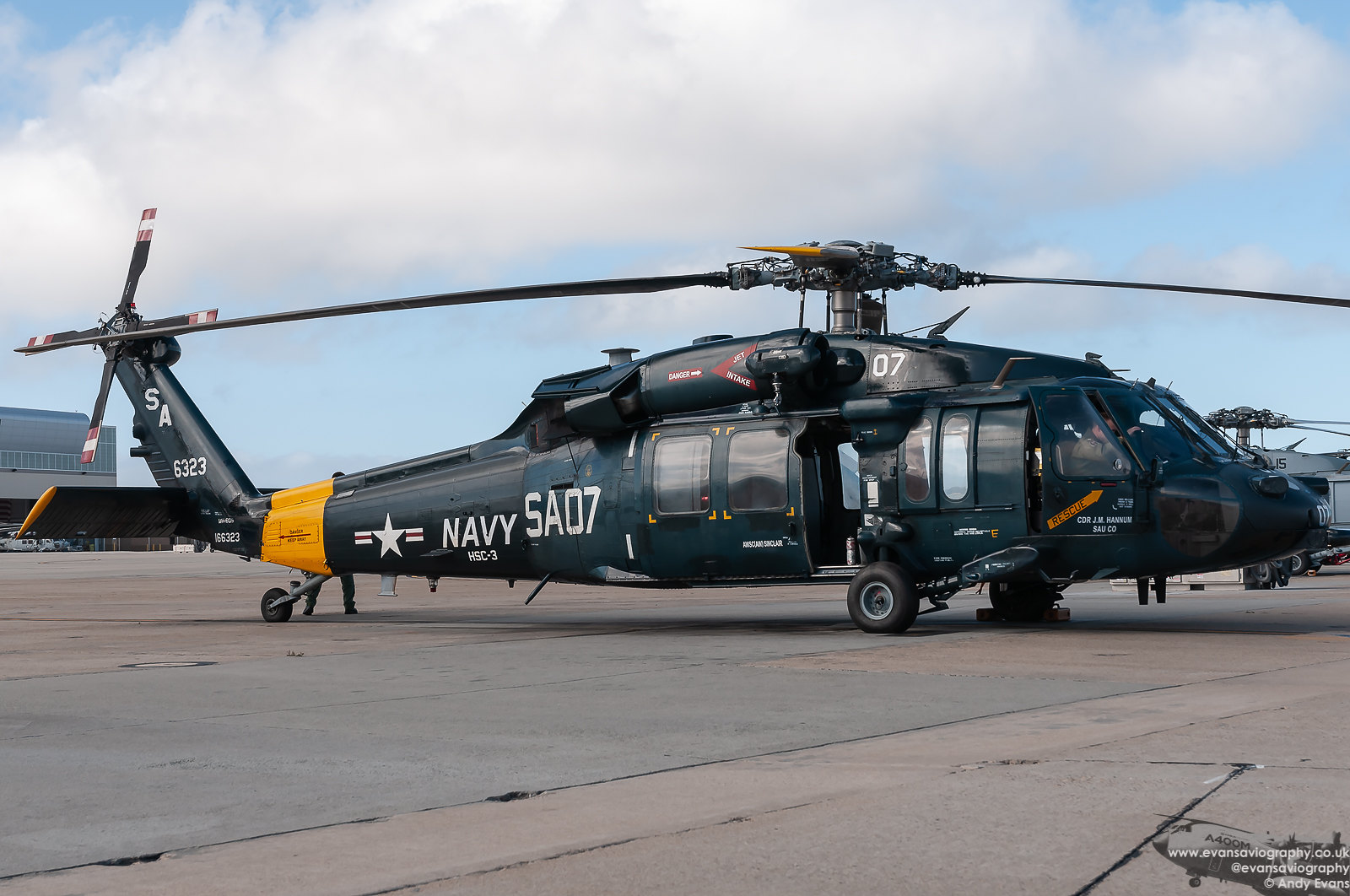 166323 MH-60S HSC-3