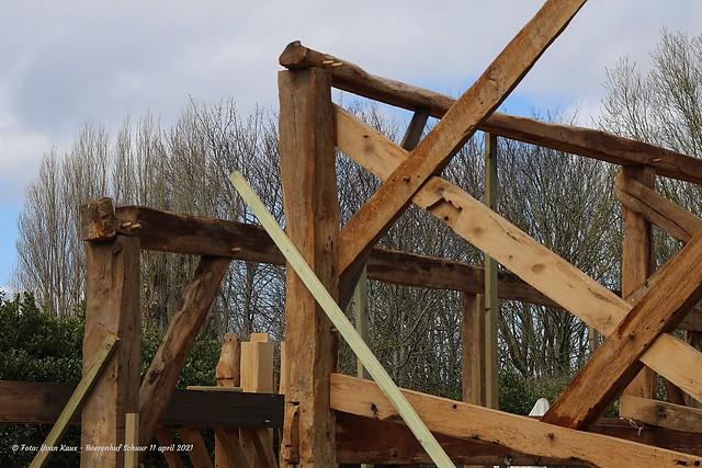 Schuur Boerenhof heropbouw 11&19 april