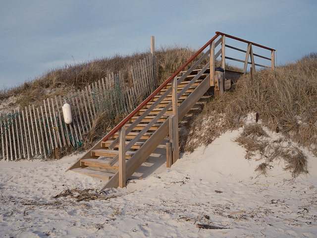 Beach Stairs, West Falmouth MA