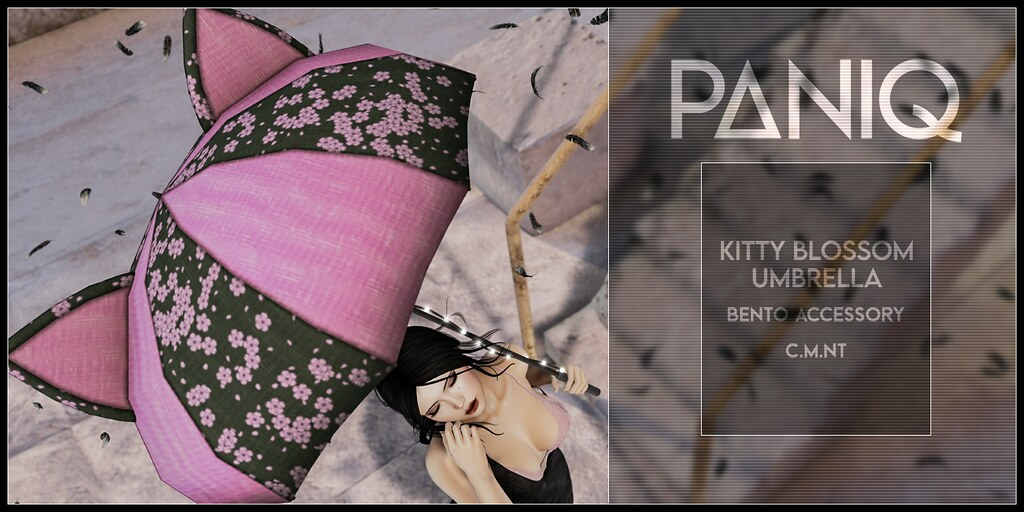 PANIQ Kitty Blossom Umbrella Ad