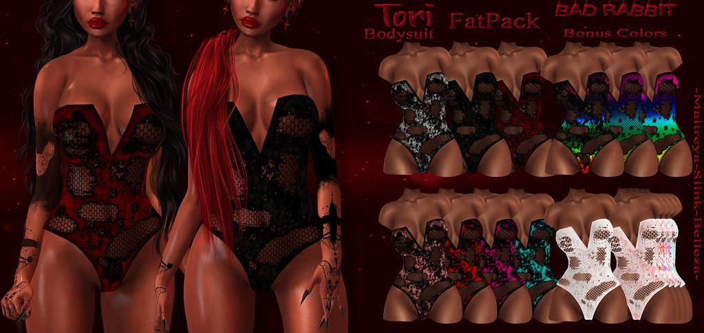 .:Bad Rabbit:. Tori Bodysuit CONTEST GIVEAWAY!!!!!