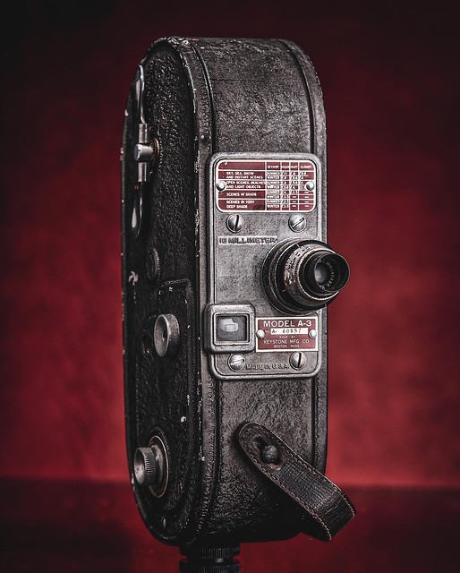 Old Keystone 16mm Camera.