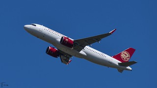Juneyao Airlines Airbus A320neo (F-WWIB B-323D MSN10263) (19/04/2021)