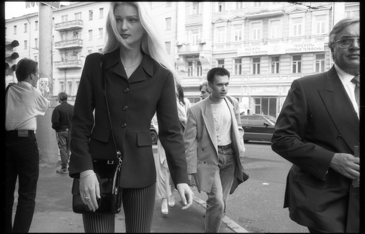 1997. На Пушкинской площади