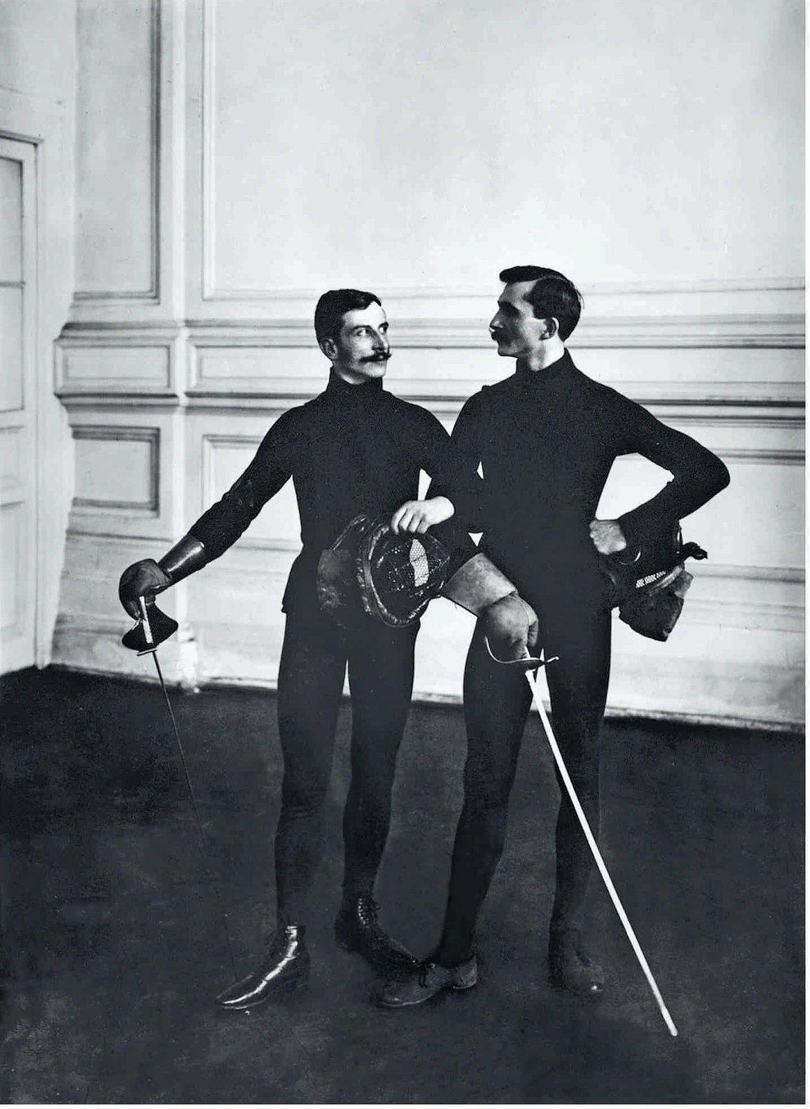 1907. Гимнастическое общество «Польский сокол». Фехтовальщики
