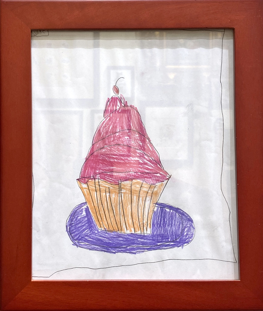 Title: Pink Cupcake | Artist: Brooke Bardwell