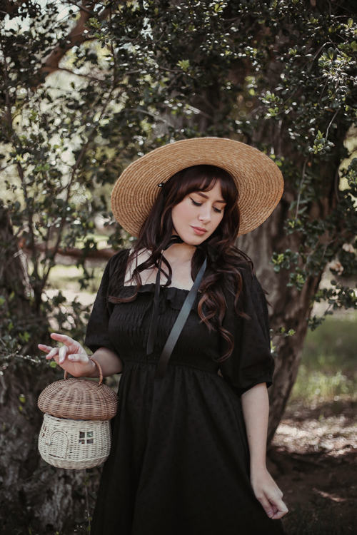 Cottage Core Forest Witch Dress