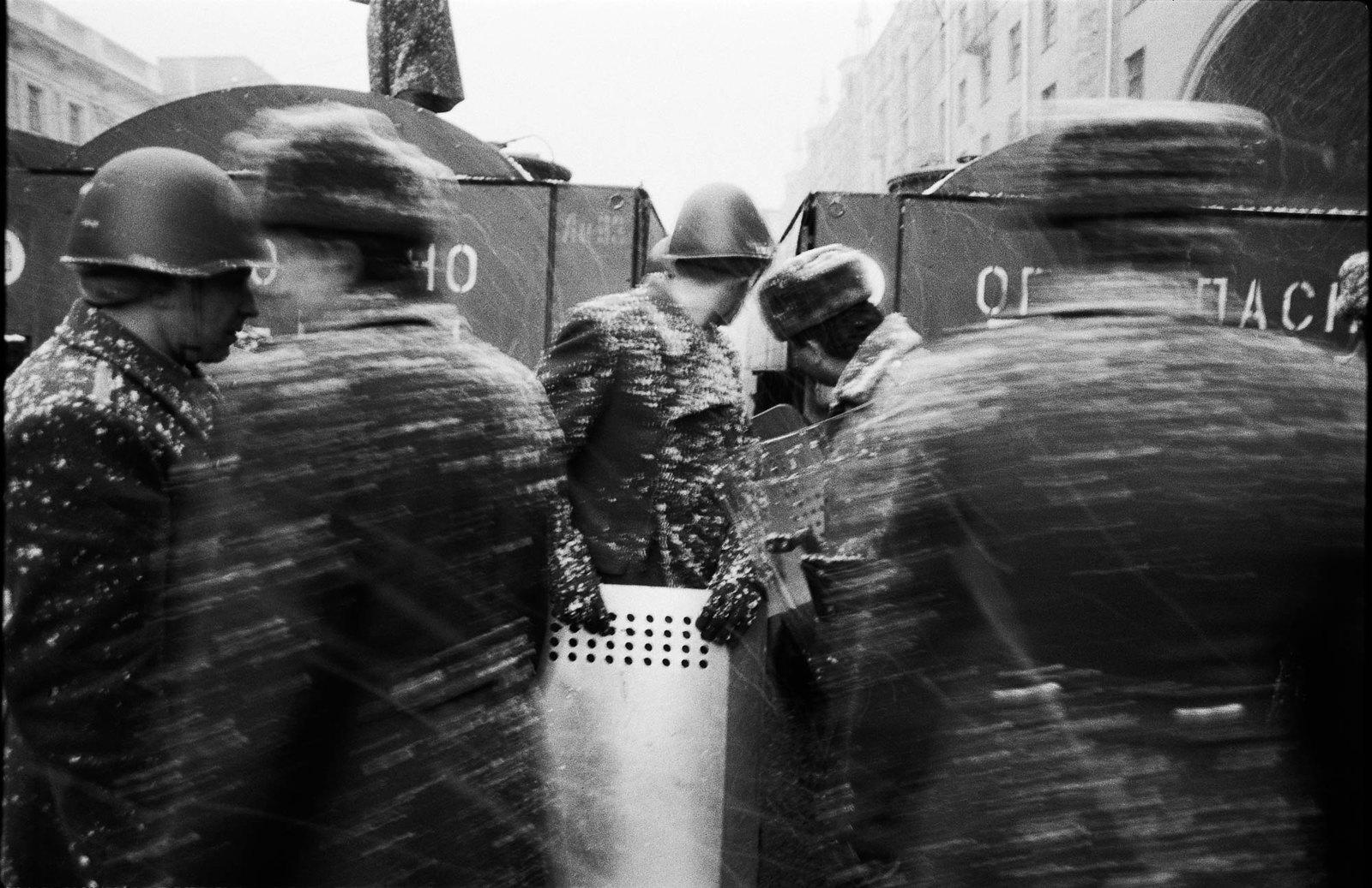 1991. Сопротивление. 23 февраля
