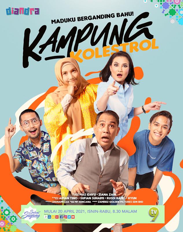 Drama Komedi Bersiri KAMPUNG KOLESTROL Lakonan Ziana Zain & Mas Idayu