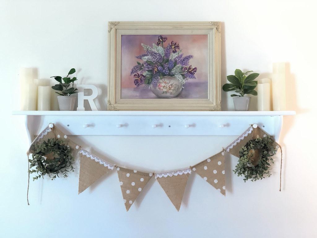 living room shelf decor