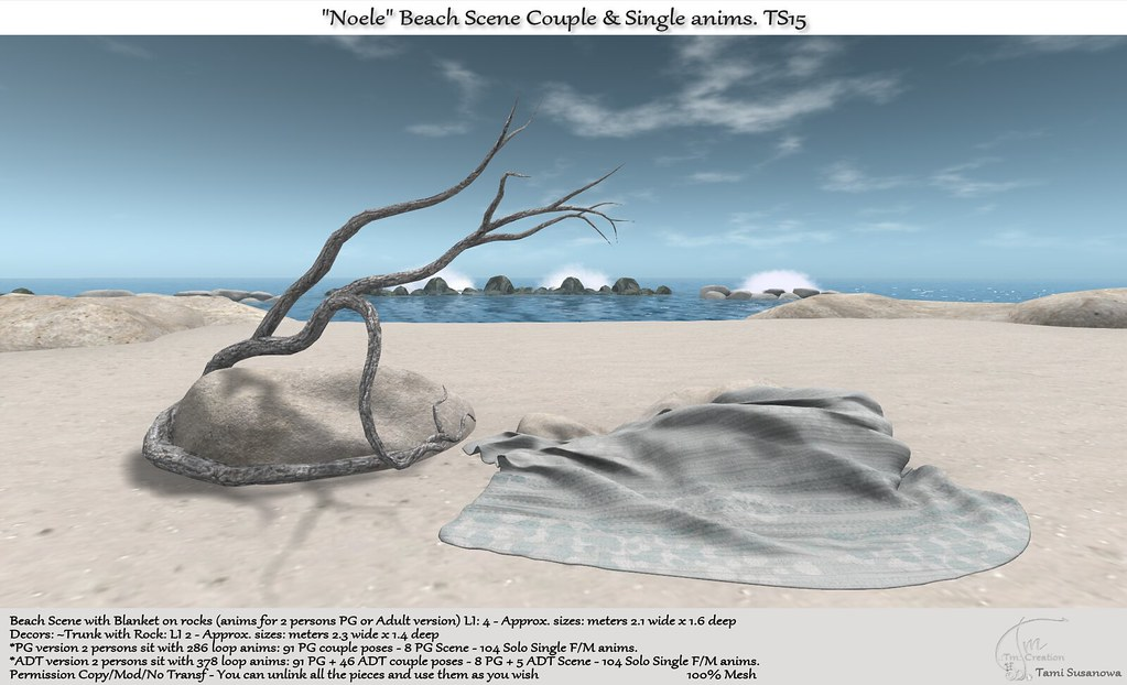 ".:Tm:.Creation ""Noele"" Beach Scene TS15"