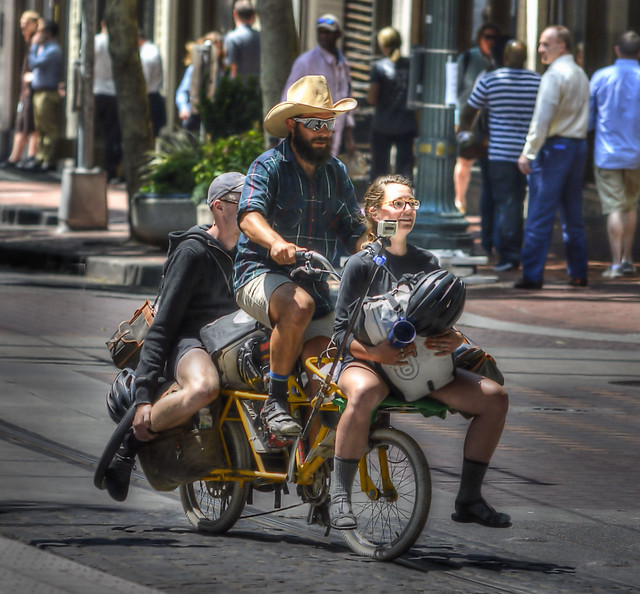 A Bicycle Trifecta
