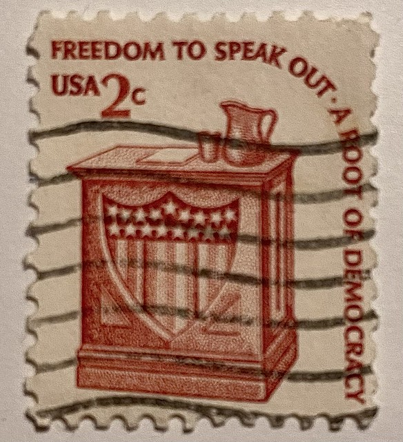 Stamp USA 2 cents