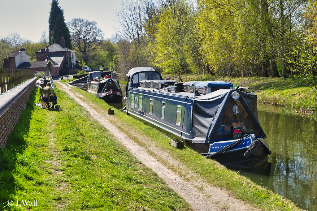 Fazeley Canal April 2021 pic2