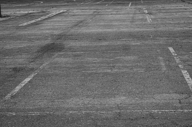 Parking Spaces in Black & White 2