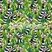 #License SOLD! :palm_tree: #Lemurs in #Madagascar #Rainforest :palm_tree: #Vector #seamless #pattern :copyright: #BluedarkArt