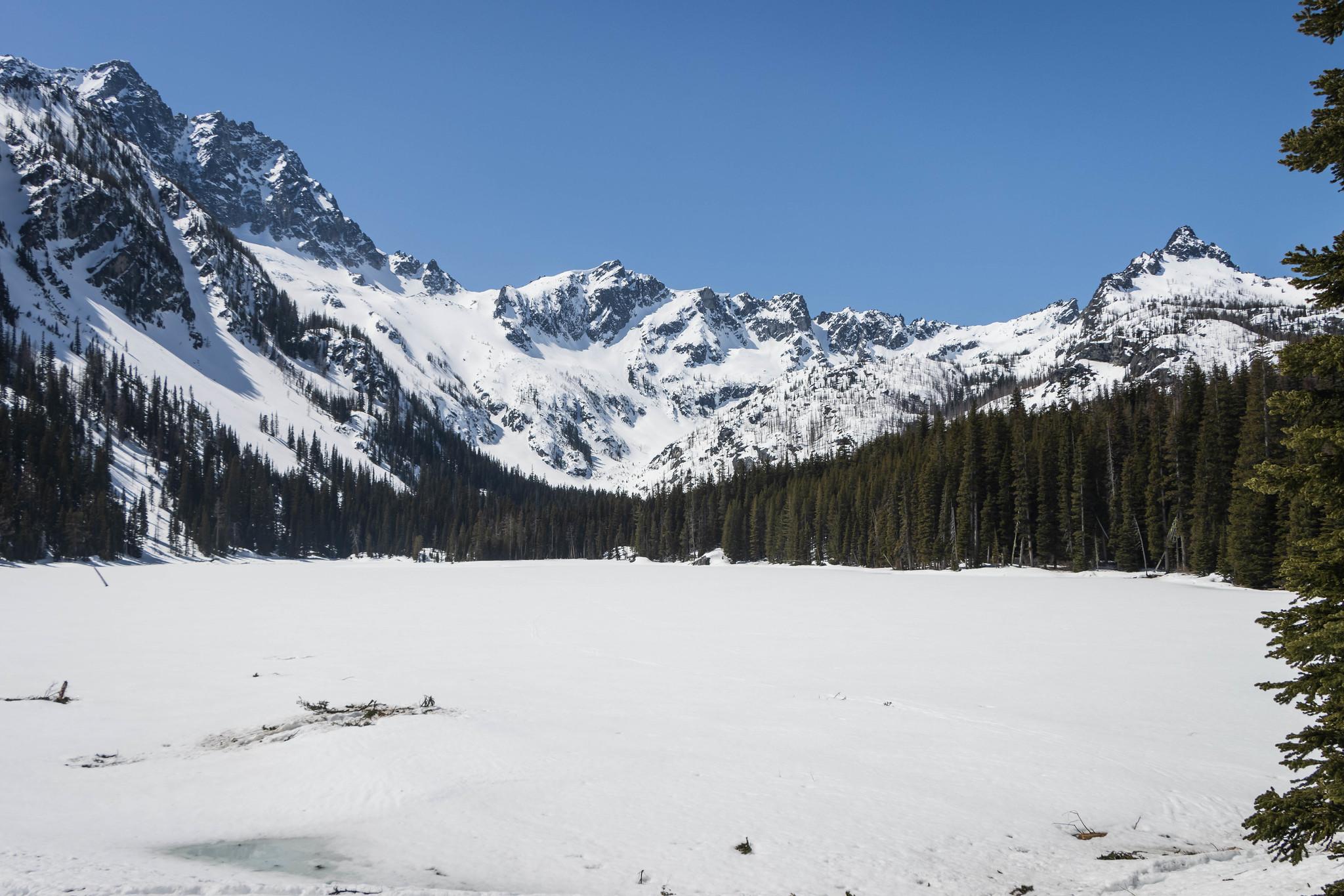 Stuart Lake at last