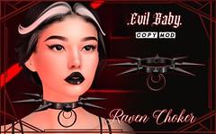 Evil Baby - Raven Choker