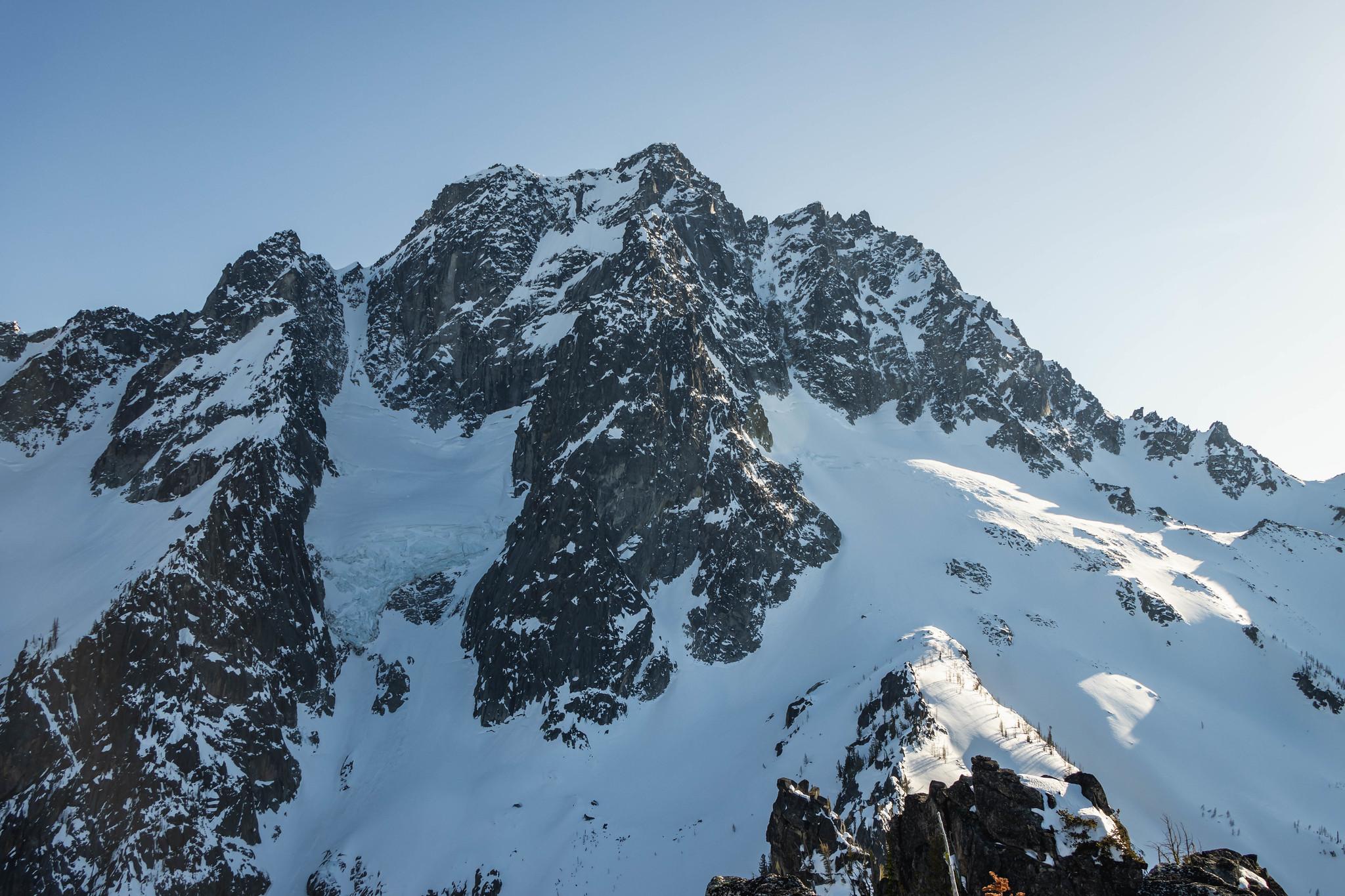 Mount Stuart's impressive north face