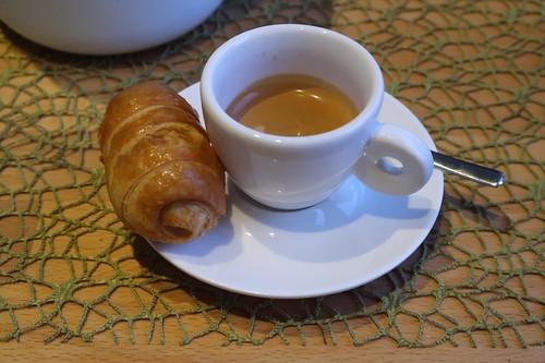 Cannoli Crema und Espresso