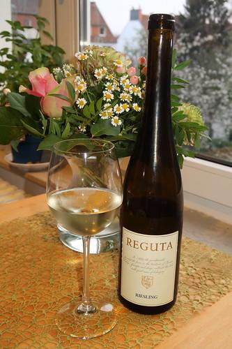 Riesling des Weinguts REGUTA aus dem Friaul