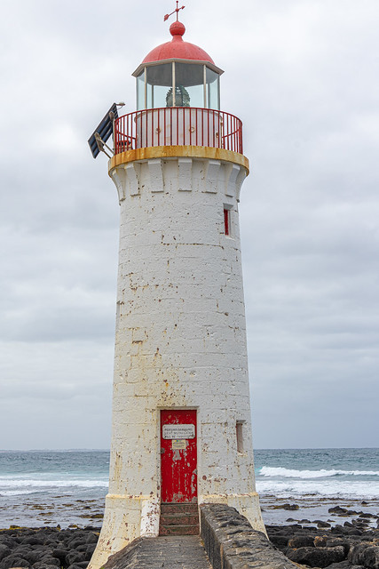 Port Fairy Lighthouse. Still operational but not open to the public