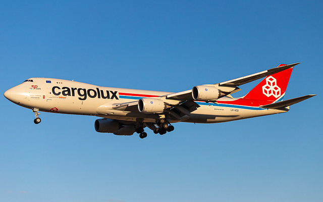 LX-VCD Cargolux 747-8R7F