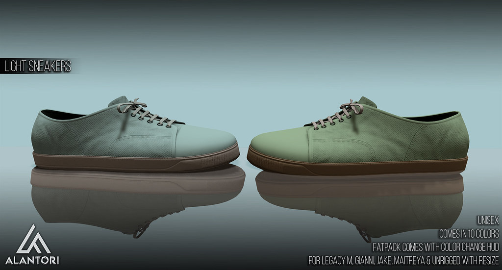 ALANTORI | Light Sneakers [ UNISEX ]