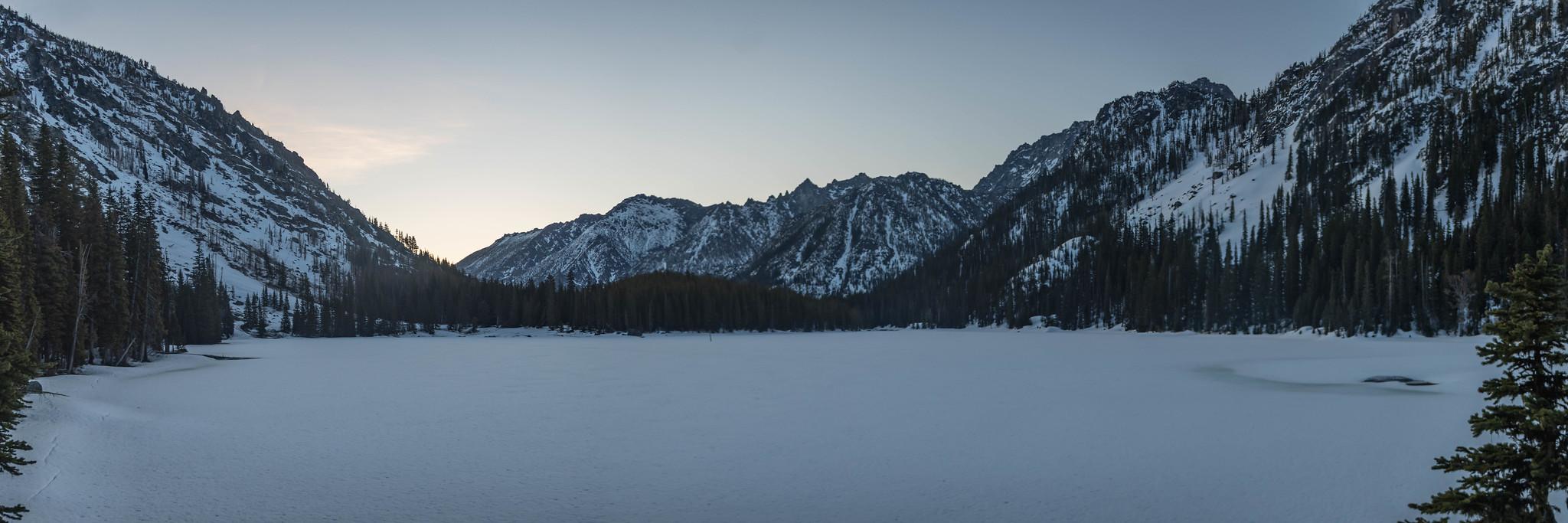 Stuart Lake panoramic view