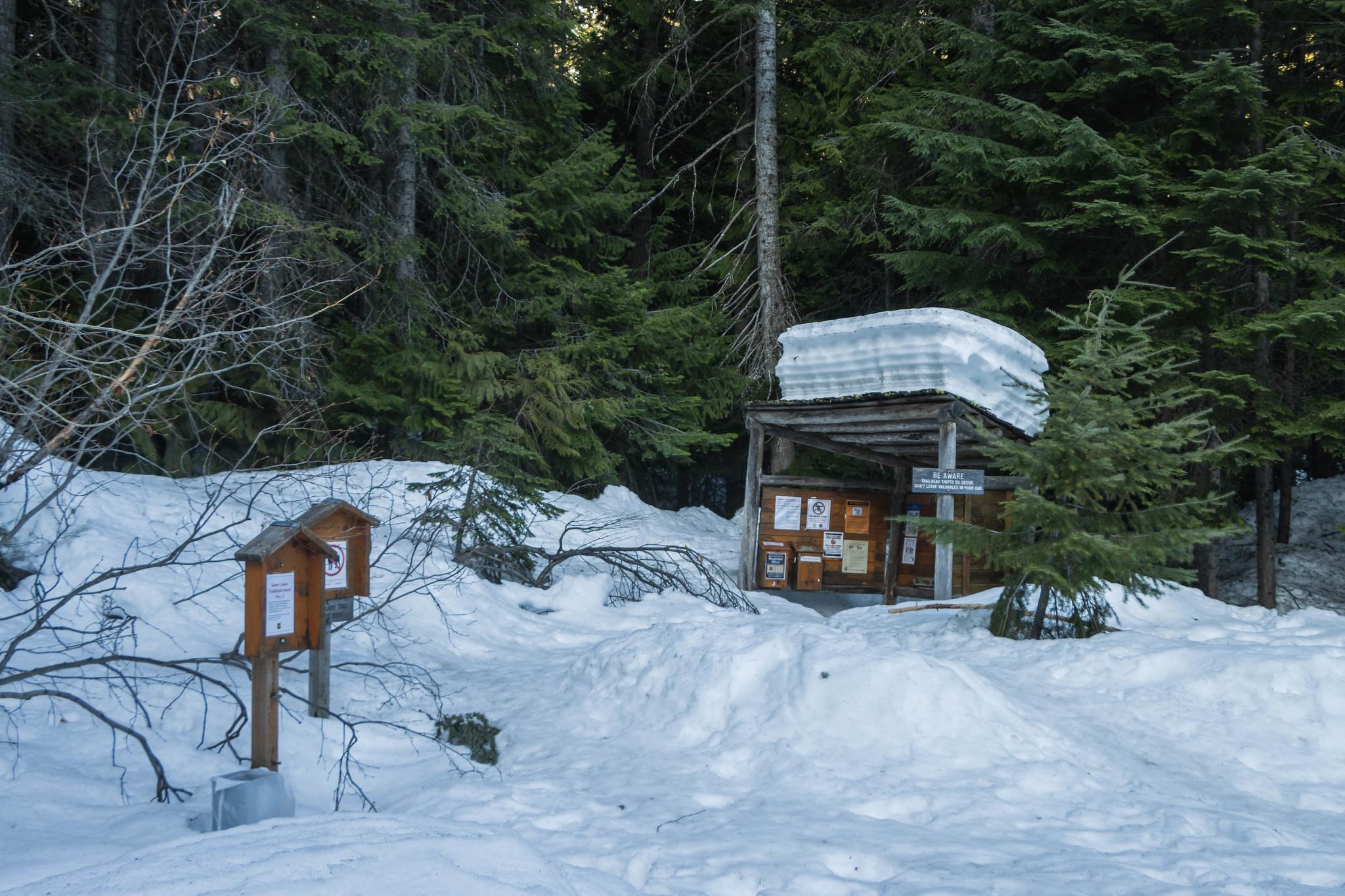 Stuart Lake Trailhead