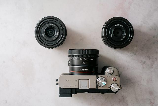 巡遊日夜的光彩:Sony FE 24mm F2.8 G, 40mm F2.5 G, 50mm F2.5 G | 02