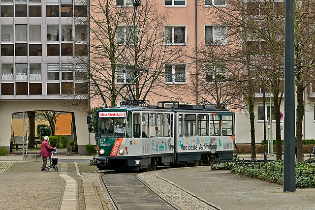 Tatra KT4D #301 ViP Fahrschule Potsdam Poczdam