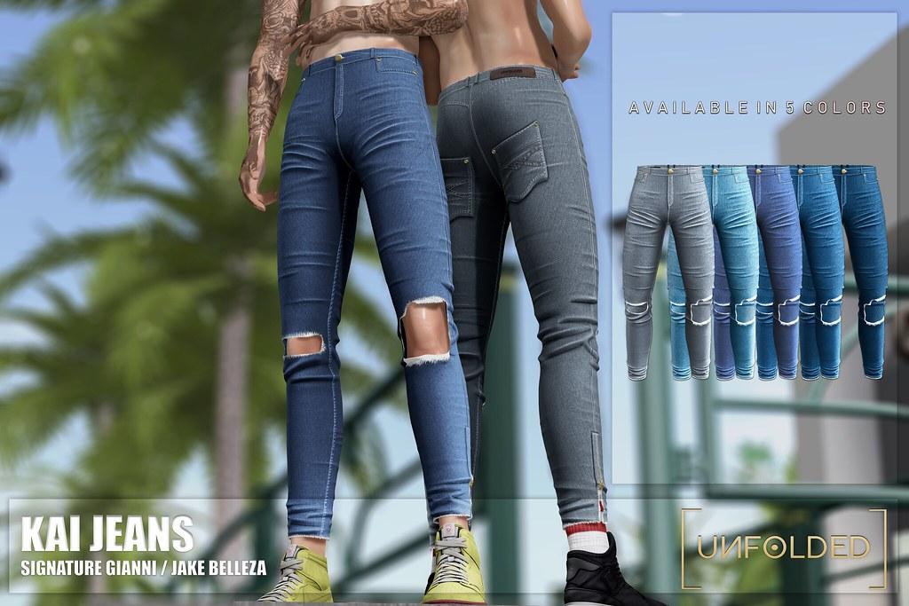 ♥ UNFOLDED x Kai Jeans ♥